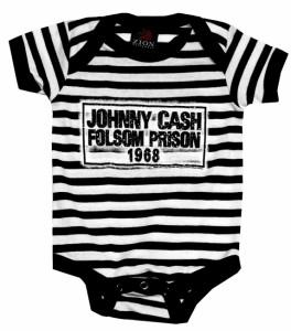 Onesie Johnny Cash @ Pyscho Baby