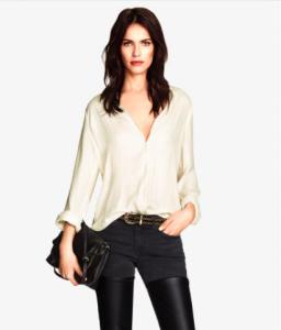 Camisa branca (c) H&M