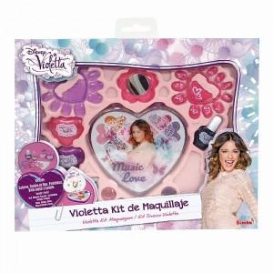 (c) Kit de maquilhagem Violetta